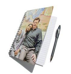 Parcs et loisirs cahier Journal recyclé Ron Swanson Tom Haverford