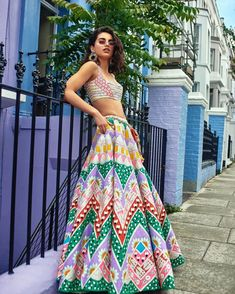 Go Traditional and make your look impressive by wearing Indian designer Lehenga - from top Indian designers in the United States of America. indiasPopup is USA's premier online shopping store for Indian designer lehenga. Party Wear Lehenga, Silk Lehenga, Bridal Lehenga, Indian Lehenga, Pakistani, Pool Party Outfits, Summer Wedding Outfits, Summer Weddings, Indian Dresses