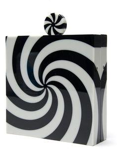 CANDY Swirl Square Clutch - CHARLOTTE OLYMPIA dressmesweetiedarling