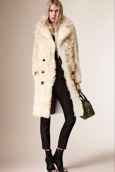 Shearling coat | Petite Girl