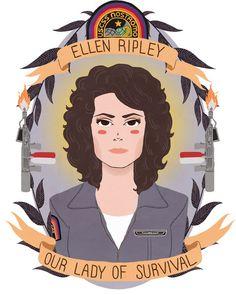 Ellen Ripley, Our Lady of Survival