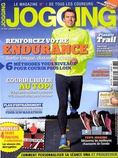 """Aromathérapie à la Cool et à la Carte - Le Diffuseur IRIS par Essential Elements; Dans le magazine """"Jogging International"""" (Jan.2015) - En Français."""