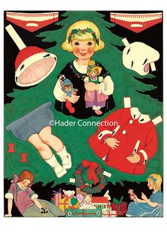 Hader paper doll_Good Housekeeping magazine, Dec. 1923