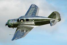 antique aircraft | Banking Spartan, 7w, aircraft, antique, executive, plane, spartan
