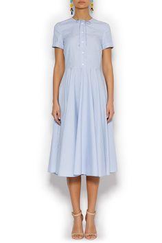 Платье миди с завязками ROSEVILLE