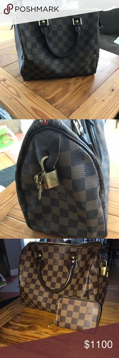 Louis Vuitton Gently used, just not my style anymore. Maybe used 3 times. Selling matching wallet as well. Included in the price Louis Vuitton Bags Totes