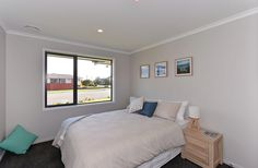 Jennian Homes West Coast Display Home. Hardwood Decking, Display Homes, Open Plan Living, Home Builders, West Coast, Living Area, House Plans, Brick, Home And Family