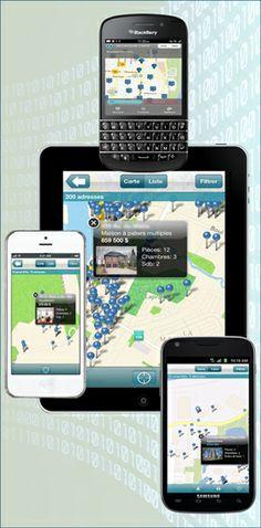 Trouvez votre maison en utilisant l'application mobile gratuite de #Centris.ca #Montréal #Immobilier