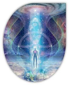 Ascension Update Report: Full Integration of I AM, The Divine Mission Part Psychedelic Art, Art Visionnaire, Psy Art, Mystique, Visionary Art, Sacred Art, New Age, Spiritual Awakening, Spiritual Life