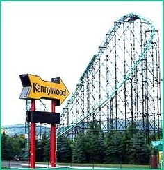 Kennywood Amusement Park, Pittsburgh, Pennsylvania