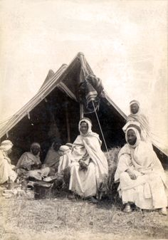 Nomad People,   Algeria  , End of Nineteenth Century
