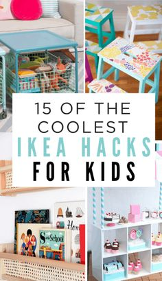 You will need these IKEA hacks in your life if you have kids at home decorated Kate – home diy organizations Ikea Hacks, Ikea Hack Kids, Ikea Kids Room, Ikea Furniture Hacks, Ikea Hack Kitchen, Kids Bedroom, Kids Rooms, Ikea Playroom, Small Playroom