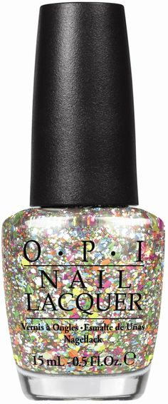 OPI Spotlight on Glitter (Press Release): Chasing Rainbows