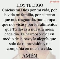 Gods Love Quotes, Quotes About God, God Prayer, Prayer Quotes, Catholic Prayers In Spanish, Good Morning In Spanish, Easter Prayers, Writing Plan, Miracle Prayer