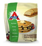 Atkins All Purpose Baking Mix. Great for bread, waffles, pancakes and more!