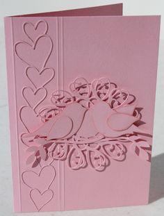 Valentine's/Anniversary/Love Card made with Memory Box Dies