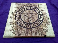 SALE ** Dryad Altar - Pagan Altar - Pentacle - Oak Wood - High Quality by vicillascauldron on Etsy https://www.etsy.com/no-en/listing/508635693/sale-dryad-altar-pagan-altar-pentacle