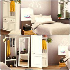 Urban Living by Simberry / Bedroom / Livingroom / Sims 3 / Apartment Sims 3 Apartment, Free Sims, Maxis, Apartments, Urban, Living Room, Bedroom, House, Furniture