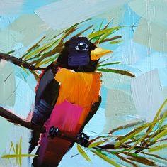 Michigan Robin Painting