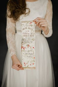 Wild and natural winter wedding inspiration by Amy Swann, photography by Jess Petrie.