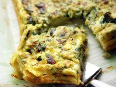Kasvispannari Quiche, Banana Bread, Baking, Breakfast, Desserts, Recipes, Mat, Food Food, Kitchen