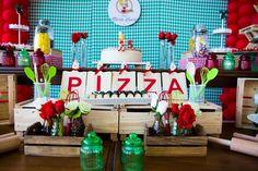 Meu Dia D - Decoração Donna da Casa - Aniversário Tema Pizza - Fotos Eduardo Calado (7)