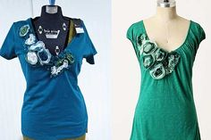embellish shirts DIY