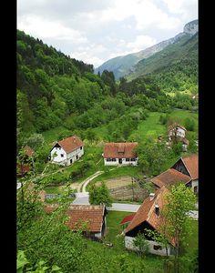 Croatian Village Photograph - Croatian Village Fine Art Print - Don Wolf