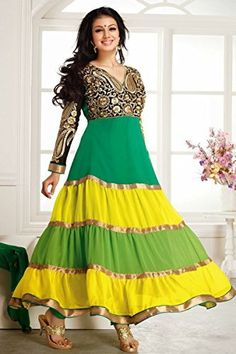 Ayesha Takia Fashionable Emroidered Anarkali Suit, http://www.junglee.com/dp/B00M14A7OC/ref=cm_sw_cl_pt_dp_B00M14A7OC