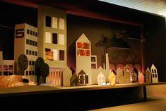 city landscape panorama box / un gran escenario!