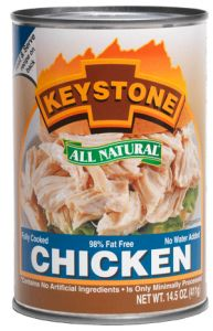 Keystone All Natural Chicken - Canned
