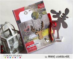 Świąteczne pudełko / Christmas box - 7 Dots Studio