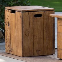 Outdoor-End-Table-Propane-Tank-Hideaway-Yard-Deck-Patio-Deck-Storage-Cover-Side