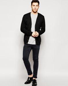 Image 4 ofASOS Cardigan In Cotton