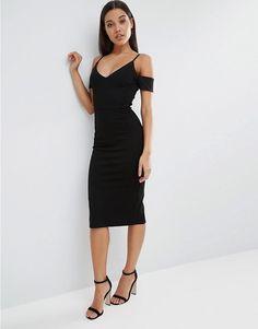 ASOS | ASOS Cut Out Shoulder Pencil Dress