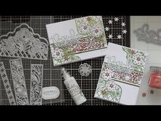 Thanks so Much with Designer's Choice #8 :D - YouTube Tonic Cards, Really Sorry, My Essentials, Three Dots, Glitter Cards, Picture Link, You're Awesome, Homemade Cards, Thankful