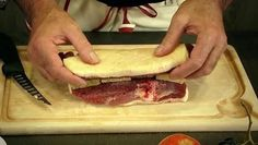 ROTI DE MAGRET AU FOIE GRAS en vidéo (2 magrets de canard + foie gras mi-cuit) CUISSON : 30 mn à 220°