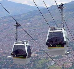 El Metrocable en Manizales - Colombia