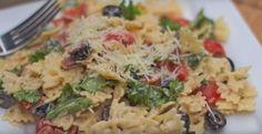 Salade de pâtes...bacon, laitue, tomates - Recettes - Ma Fourchette