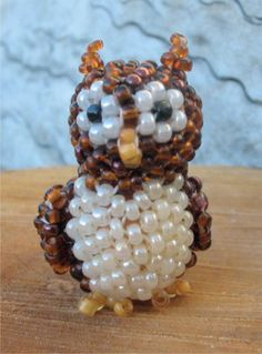 3D Horned Owl | Bead-Patterns