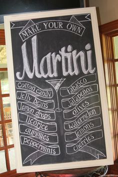 martini bar ideas | Martinis for Mutts Martini bar | oh goodie designs