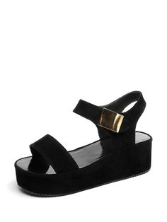 72095bde0c9f ROMWE offers Metal Embellished Flat Sandals   more to fit your fashionable  needs.