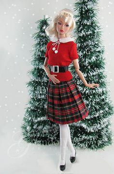 Tartan Barbie