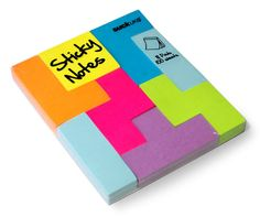 2 of my favourite things...Tetris-style Sticky Notes or 'Block Notes.' Found at Suck.UK.com