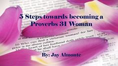 5 Steps towards becoming a Proverbs 31 Woman (English Edition)