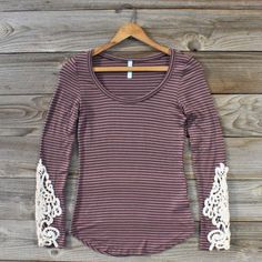 Quill & Lace Tee...