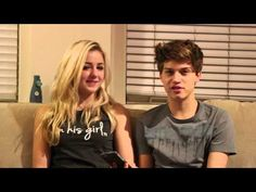 Q & A with Ricky Garcia and Chloe Lukasiak - Boyfriend Tag - YouTube!!!!! YAS!!!!!!!!!!!!!!!!!!!!!!!!! Couple of the year