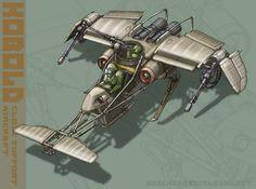 'Kobold' Aircraft Concept by MikeDoscher.deviantart.com on @deviantART