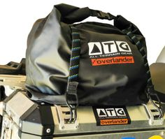 ATG pannier and utility bags We have improved the normal pannier liners and now offer the most versatile pannier bags and they are also 100% waterproof, dust-proof, storm-proof, sand-proof and mud-proof. The bags come standard with the carry harness and shoulder straps. Used with hard panniers or soft panniers. As a sling bag when fishing or as a everyday carry gym bag, you can use these for any type of activity. Not just for inside panniers or luggage can also strap on any motorcycle.
