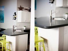 Staron Quarry Starred solid surface countertops